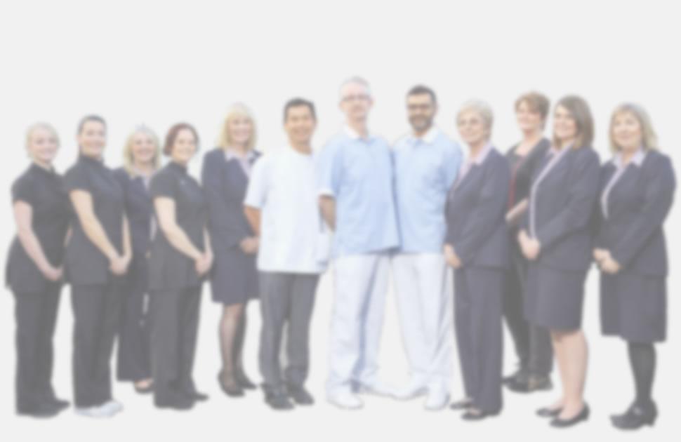 Blurred Staff Background