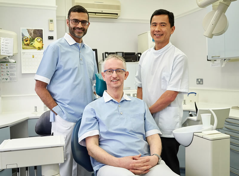 Meet the dentists