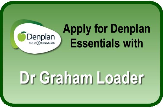 Visit Dr Loader's Denplan Essentials Page