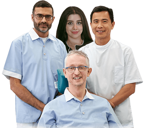 Group Photo of Our Dentists